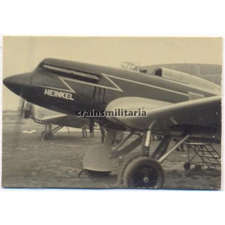 Heinkel He70 Aircraft in Jüterbog-Damm 1935