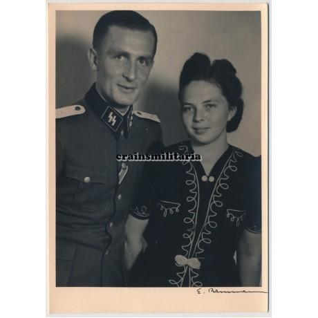 Führerschutz Kommando SS officer portrait