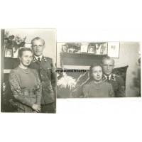 SS Unterscharführer with wife