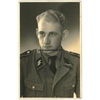 SS-Sturmmann postcard portrait