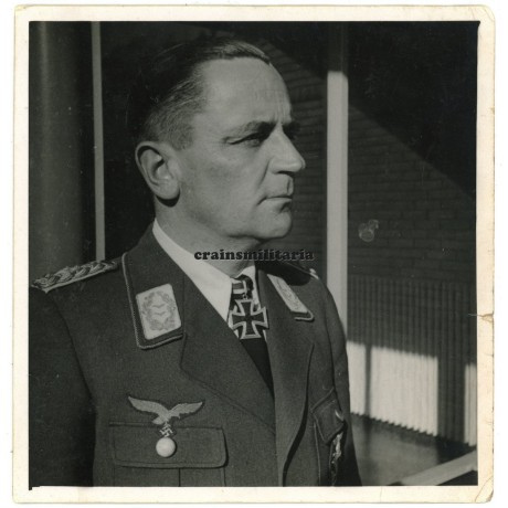 Knight's Cross winner Joachim Coeler private portrait
