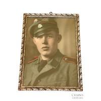 Framed SS Kanonier portrait
