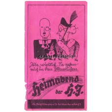 Hitlerjugend Heimabend advertising