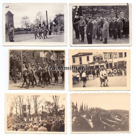 Group of 6 political photos
