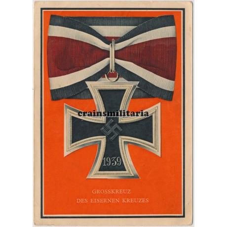 Grosskreuz des Eisernen Kreuz postcard