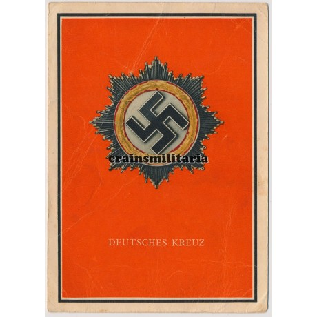 Deutsches Kreuz postcard