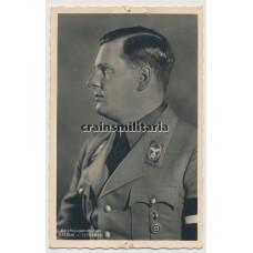 Hoffmann postcard Baldur von Schirach