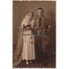 ***SOLD*** NSDAP Wedding portrait