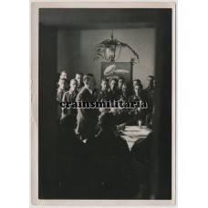 Hitler in Jagdgeschwader visit