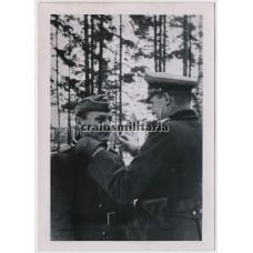 KC Ceremony of Heinrich Tromm, Inf.Rgt.411
