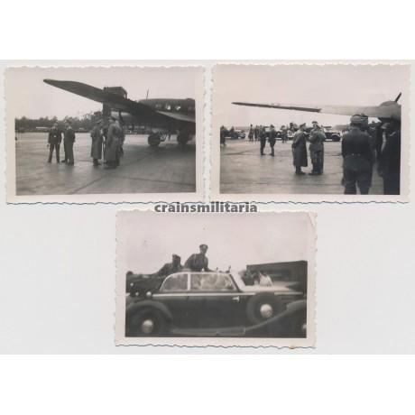 Hitler visiting Kampfgeschwader 53