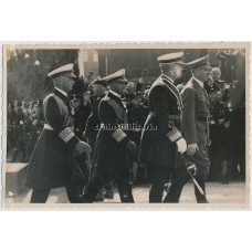 ***SOLD*** Hitler, Raeder, Albrecht and Horthy in Kiel