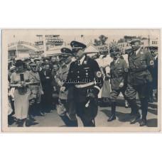 SS, NSDAP and SA Leaders on Sachsen fair