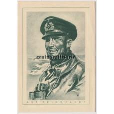 Uboot commander postcard