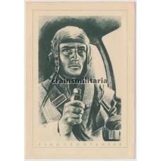 Flugzeugführer postcard