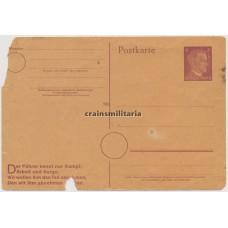 Political postcard Hitler