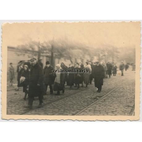 Expulsion of Jews in Nikolajew, Ukraine 1941