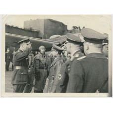 ***SOLD*** Goebbels visiting Luftwaffe