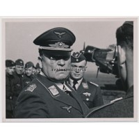 GFM Sperrle during airfield visit