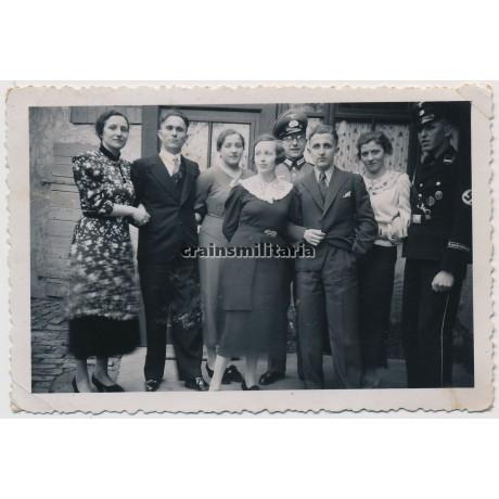 Allgemeine SS with Brandenburg cufftitle