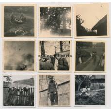 SS Hohenstaufen 1944 photo grouping