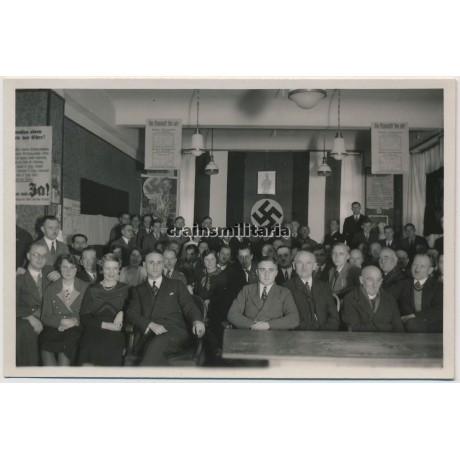 NSDAP Election meeting