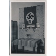 Politically decorated barracks