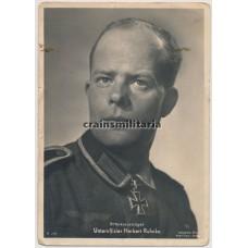 Ritterkreuzträger des Heeres - Uffz. Herbert Ruhnke