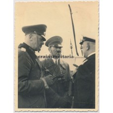 ***SOLD*** Hitler and von Blomberg on the Admiral Graf Spee