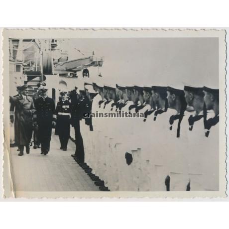 Hitler on the Admiral Graf Spee