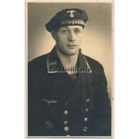 Kriegsmarine portrait with Spanienkreuz