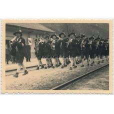 Pro-nazi music band in Austria, 1938