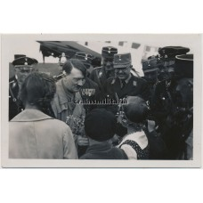 ***SOLD*** Hitler meeting children - private photo