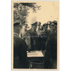 Kesselring with more Luftwaffe officers
