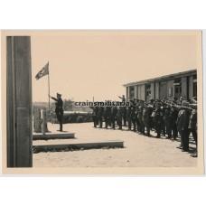 Officers bringing nazi salute
