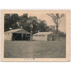 SS Sanitäter hospital tents