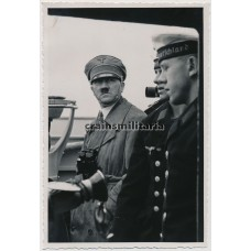 ***SOLD*** Hitler on Panzerschiff Deutschland