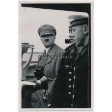 ***SOLD*** Hitler on Panzerschiff Deutschland