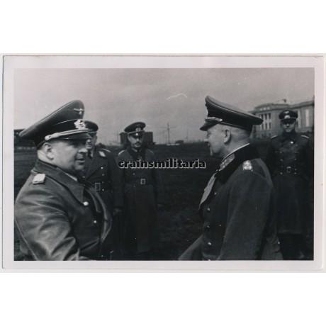 Generals von Kleist and Zeitzler