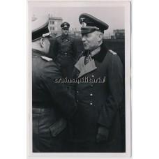 Generaloberst von Kleist wearing the Eichenlaub