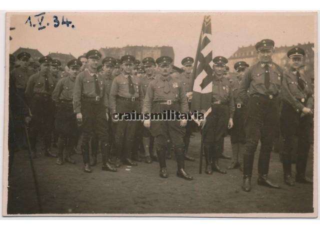 SA Members in 1934 parade