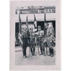 SA Flag bearers
