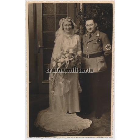 NSDAP wedding portrait in Leipzig 1934