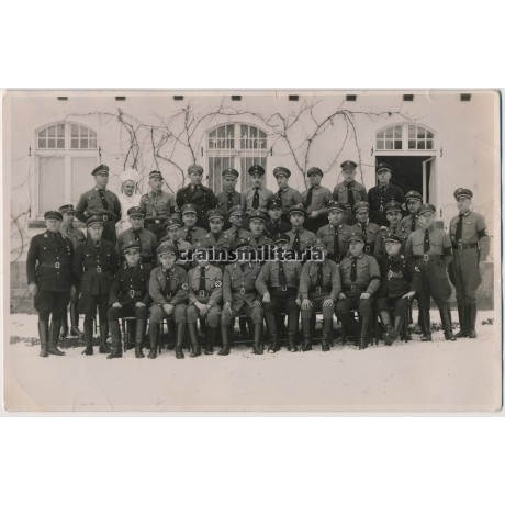 NSDAP / SS / SA Group portrait in Arnsberg