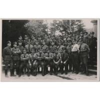 NSDAP / Polizei / SA Group portrait in Arnsberg