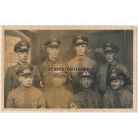 NSDAP Members studio portrait