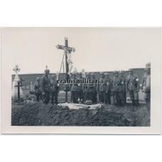 German soldier burial