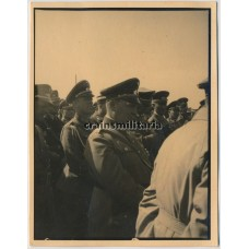 Göring during 1933 maneuver