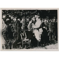 Göring at General Jeschonnek's funeral