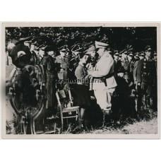 Göring at General Jeschonnek's funeral